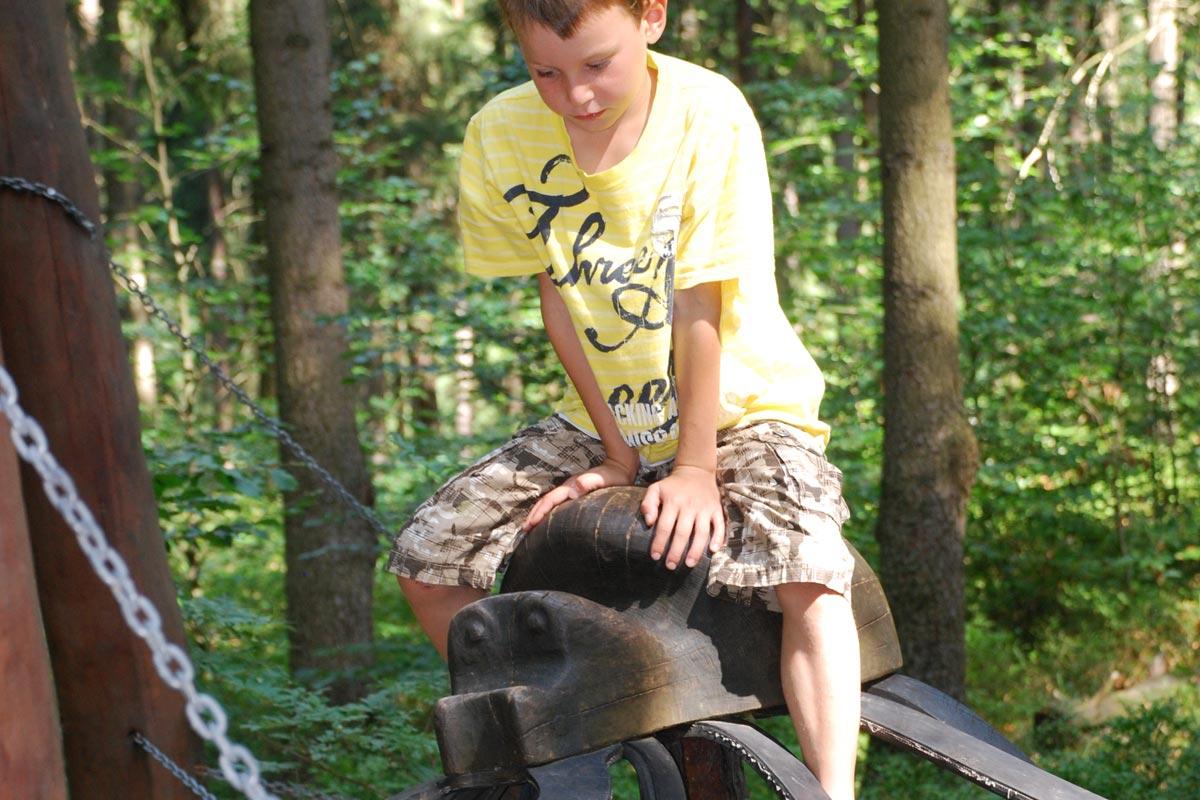 Wald Kinderspielplatz