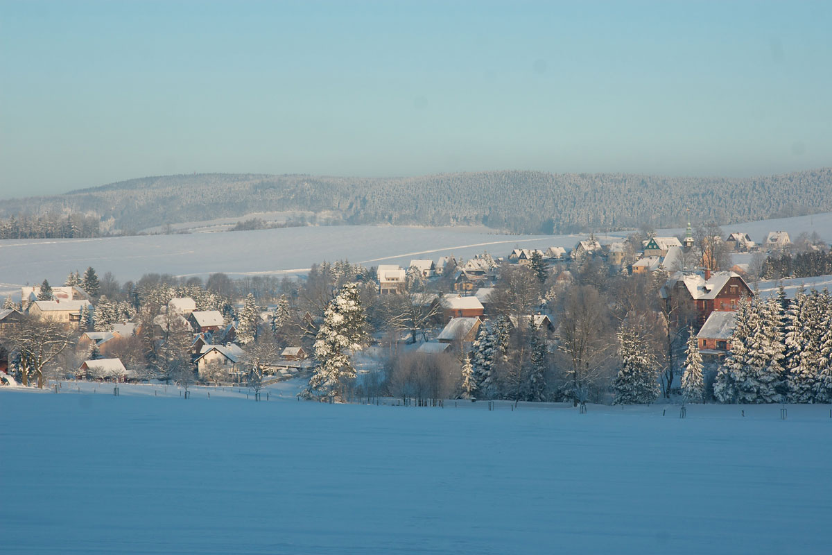 Winterimpression in Hinterhermsdorf